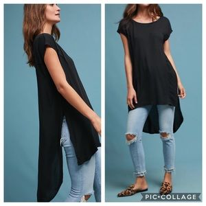 Anthro t.la NWT High Low Tunic Top